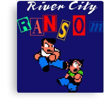 RIVER CITY RANSOM - NINTENDO Canvas Print