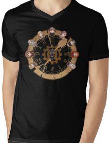 Retro Time Dilemma (US Ver.) Mens V-Neck T-Shirt