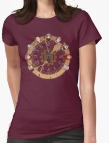Retro Time Dillema (US Ver.) Womens Fitted T-Shirt