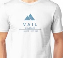 Vail Ski Resort Colorado Unisex T-Shirt