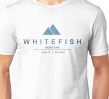 Whitefish Ski Resort Montana Unisex T-Shirt