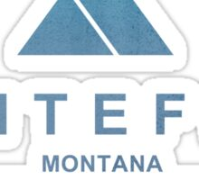 Whitefish Ski Resort Montana Sticker