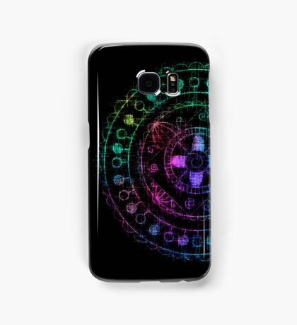 Midnight Rainbow Mandala Samsung Galaxy Case/Skin