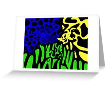 Poison Dart Frogs Greeting Card