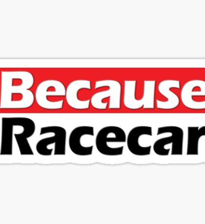Race is life Sticker
