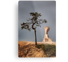 Tree and Queen Victoria, Bryce Canyon National Park, Utah, USA. Metal Print