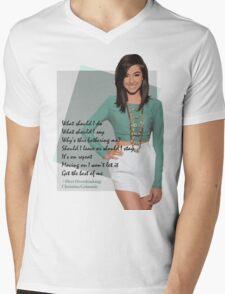 #OverOverthinking Mens V-Neck T-Shirt