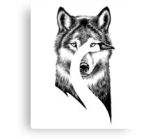 Special Design t-shirt,BEAUTY OR BEAST Canvas Print