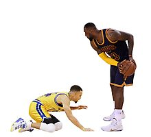 Curry kneeling down Photographic Print