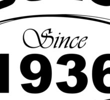 Fabulous Since 1936 Sticker