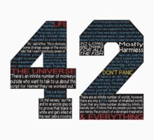 Hitchhiker's Guide 42 Quotes by bplavin