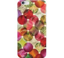 Macro floral bubbles iPhone Case/Skin