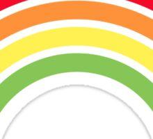 retro rainbow Sticker