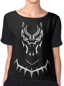 black panther Chiffon Top
