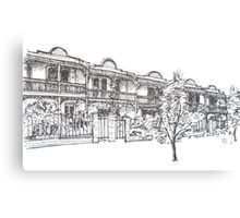Bendall St Kensington Melbourne.  Canvas Print