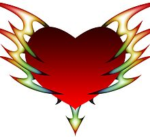tribal heart by chromatosis