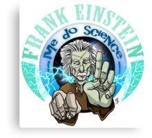 Frank Einstein Canvas Print