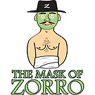 The Mask Of Zorro by Delinquent21