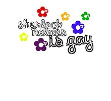 Sherlock Holmes is Gay Photographic Print