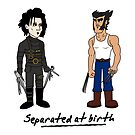Separated At Birth by Delinquent21