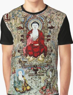 """SONG DYNASTY"" Ancient Chinese Print Graphic T-Shirt"