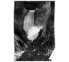 Yellowstone Canyon Falls, Yellowstone National Park, USA Poster