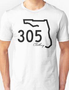 305 Clothing - White T-Shirt