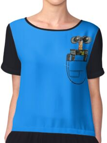 POCKET WASTE ALLOCATION LOAD LIFTER Chiffon Top