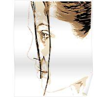 Angelina Jolie Vector Illustration Poster
