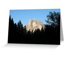 Half Dome from Sentinel Bridge, Yosemite National Park. Greeting Card