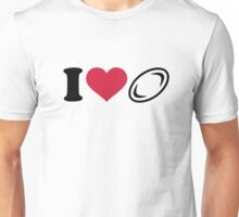 I love Rugby  Unisex T-Shirt