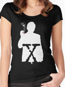 THE CANCER MAN Women's Fitted Scoop T-Shirt