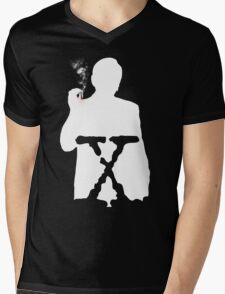 THE CANCER MAN Mens V-Neck T-Shirt