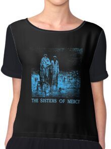 The Sisters Of Mercy - The Worlds End - Body and soul Chiffon Top