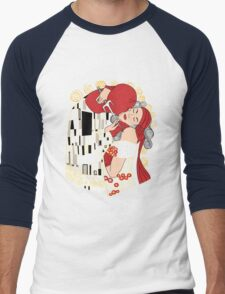 Kiss of the Devil Men's Baseball ¾ T-Shirt