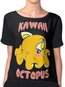 Kawaii Octopus Chiffon Top