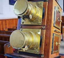 Antique Projector by Francis Drake