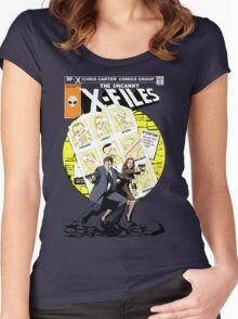 The Uncanny X-Files Women's Fitted Scoop T-Shirt