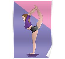 Dancer Pose Poster