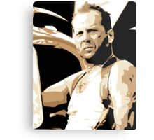 Bruce Willis Vector Illustration Metal Print