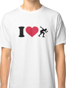 I love Speed skating Classic T-Shirt