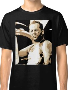 Bruce Willis Vector Illustration Classic T-Shirt