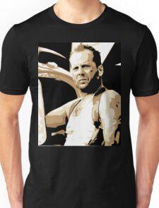 Bruce Willis Vector Illustration Unisex T-Shirt