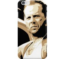 Bruce Willis Vector Illustration iPhone Case/Skin