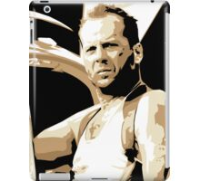 Bruce Willis Vector Illustration iPad Case/Skin