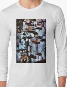 Casares, Andalusia, Spain. A famous white village Long Sleeve T-Shirt