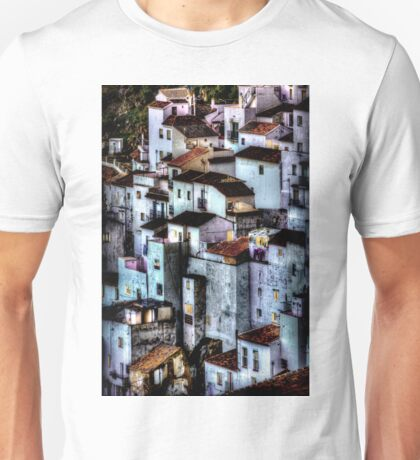 Casares, Andalusia, Spain. A famous white village Unisex T-Shirt