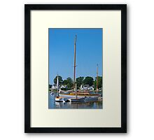 Wednesday At The Seaport 2 Framed Print