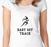 Baby Got Track Women's Fitted Scoop T-Shirt