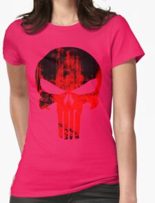 PUNISHER GRUNGE Womens Fitted T-Shirt